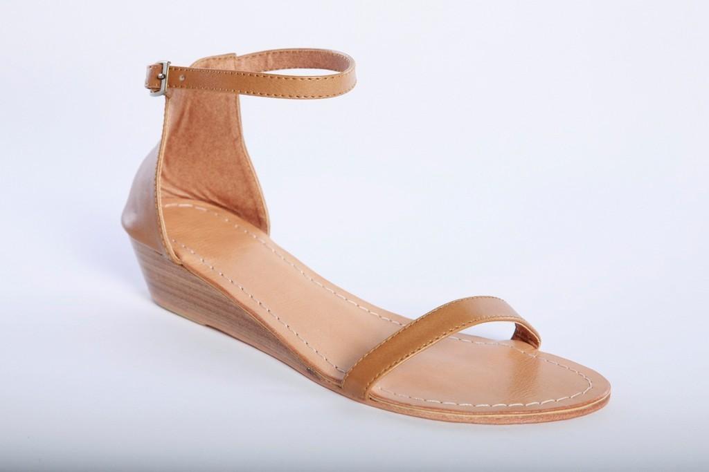 New Womens Ankle Strap Wedge Sandal Footwear Shoes Ebay